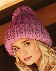 Cappellino Oversized Hand-Knitted