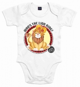 BODY BABY CON STAMPA TITOLO: LION KING