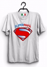 MAGLIETTA MADE IN ITALY IDEA REGALO PER LA FESTA DEL PAPA': DAD SUPER 1