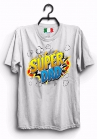 MAGLIETTA MADE IN ITALY IDEA REGALO PER LA FESTA DEL PAPA': DAD SUPER