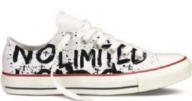 SIMIL CONVERSE BASSE STAMPA TITOLO  NO LIMITED