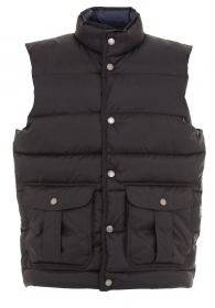 Oxford Navy - codice: 991730  Gilet in microripstop - Fodera morbida in polyeste