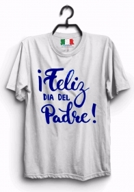 MAGLIETTA MADE IN ITALY IDEA REGALO PER LA FESTA DEL PAPA': FELIZ